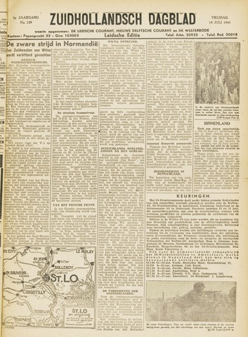 Zuidhollandsch Dagblad 1944-07-14