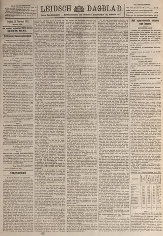 Leidsch Dagblad 1921-02-25