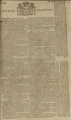 Leydse Courant 1759-12-12