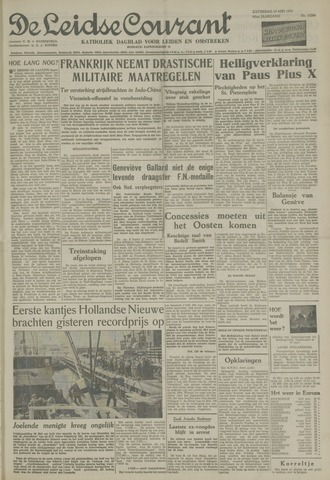 Leidse Courant 1954-05-29