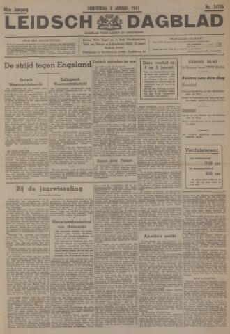Leidsch Dagblad 1941