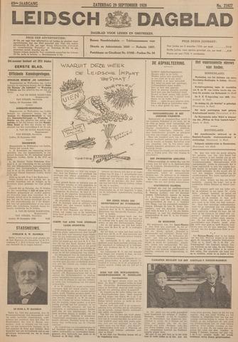 Leidsch Dagblad 1928-09-29
