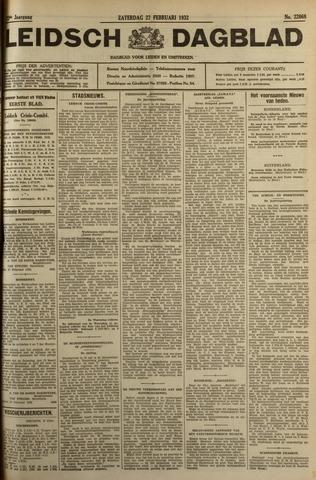 Leidsch Dagblad 1932-02-27