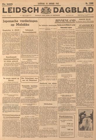 Leidsch Dagblad 1942-01-10