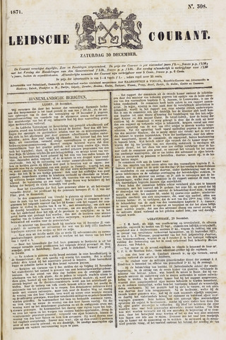 Leydse Courant 1871-12-30