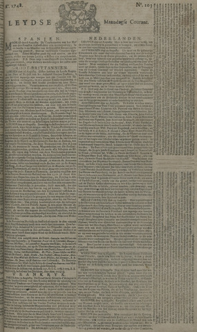 Leydse Courant 1748-08-26