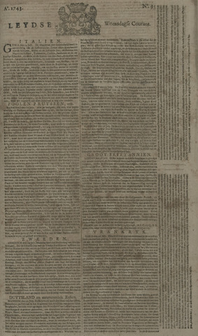 Leydse Courant 1743-07-31