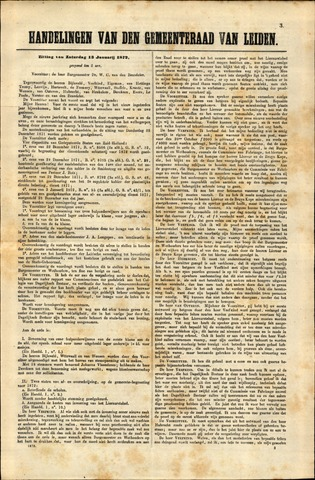 Handelingen van de Raad 1872-01-13