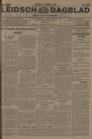 Leidsch Dagblad 1940-02-24