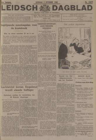 Leidsch Dagblad 1940-09-07