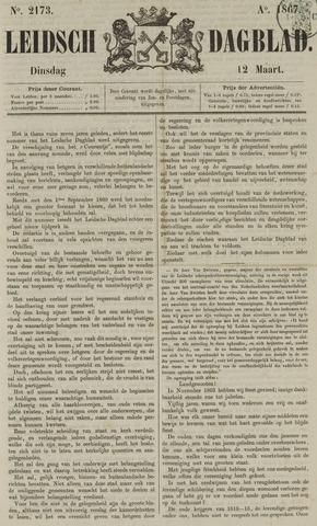 Leidsch Dagblad 1867-03-12