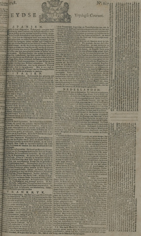Leydse Courant 1748-09-27