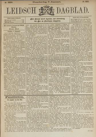 Leidsch Dagblad 1893-01-05