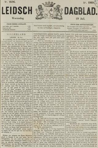 Leidsch Dagblad 1868-07-29