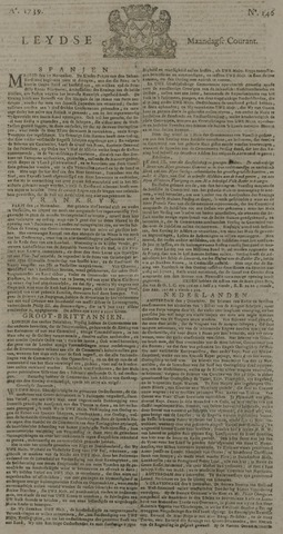 Leydse Courant 1739-12-07