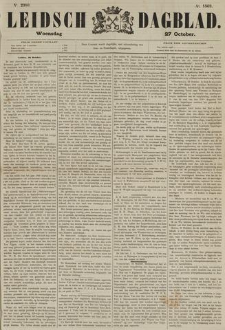 Leidsch Dagblad 1869-10-27