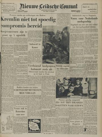 Nieuwe Leidsche Courant 1957-12-23