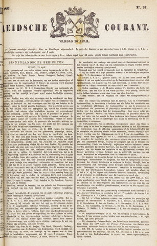 Leydse Courant 1883-04-20