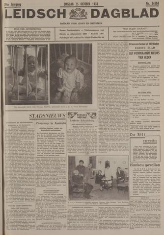 Leidsch Dagblad 1938-10-25