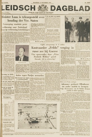Leidsch Dagblad 1954-12-13