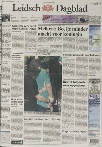 Leidsch Dagblad 2000-09-14