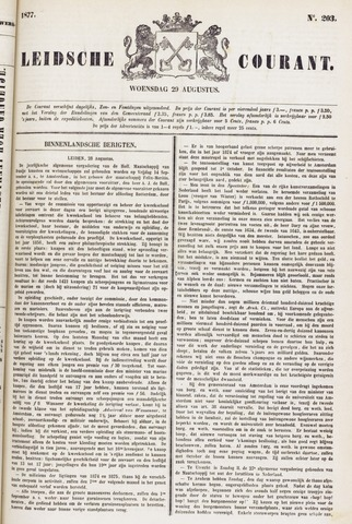 Leydse Courant 1877-08-29