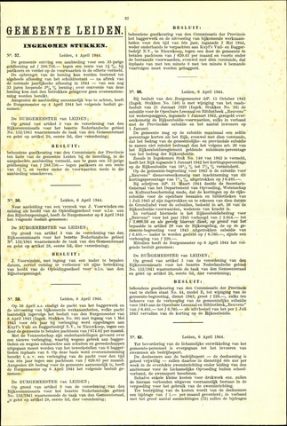 Handelingen van de Raad 1944-04-04