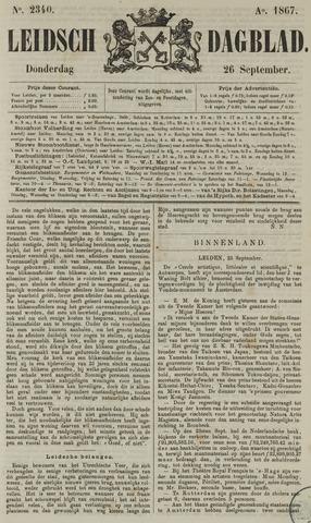 Leidsch Dagblad 1867-09-26