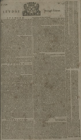 Leydse Courant 1740-12-09
