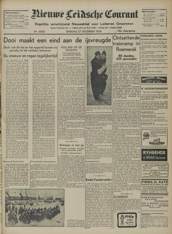 Nieuwe Leidsche Courant 1938-12-27