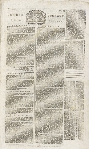 Leydse Courant 1818-05-27