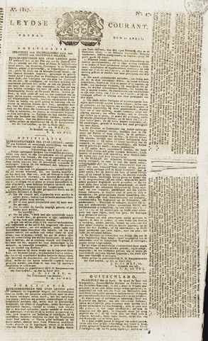Leydse Courant 1817-04-18