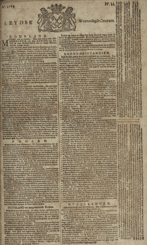 Leydse Courant 1765-02-20