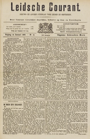 Leydse Courant 1887-01-14