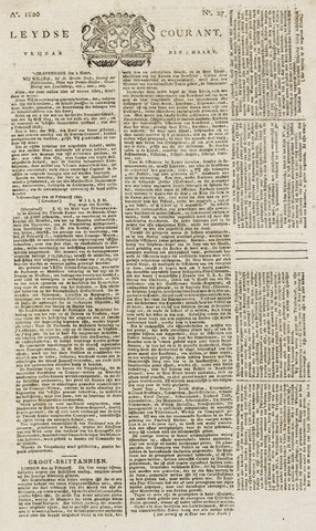 Leydse Courant 1820-03-03