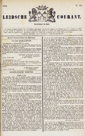 Leydse Courant 1879-05-19