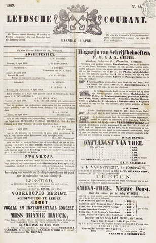 Leydse Courant 1869-04-12