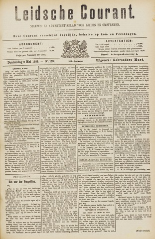 Leydse Courant 1889-05-09