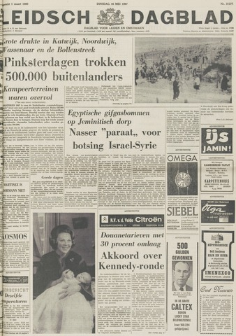 Leidsch Dagblad 1967-05-16