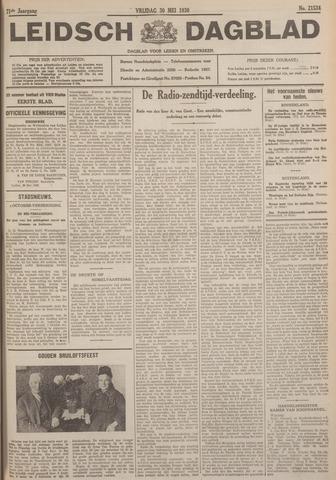 Leidsch Dagblad 1930-05-30