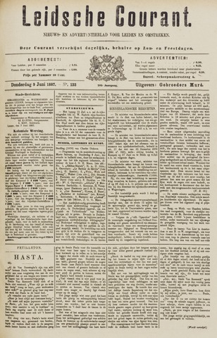 Leydse Courant 1887-06-09