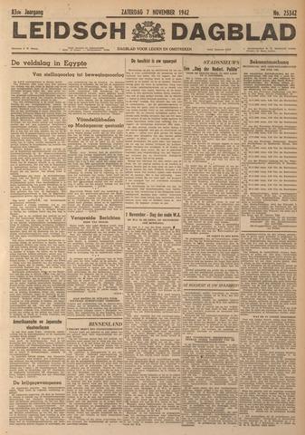 Leidsch Dagblad 1942-11-07
