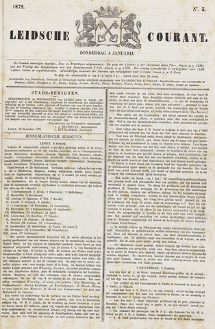 Leydse Courant 1872-01-04