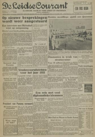 Leidse Courant 1955-01-03