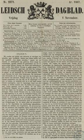 Leidsch Dagblad 1867-11-01