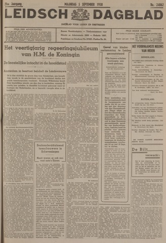Leidsch Dagblad 1938-09-05