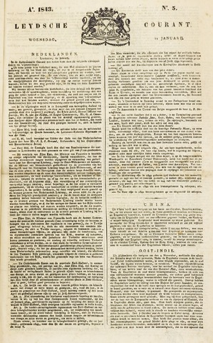Leydse Courant 1843-01-11