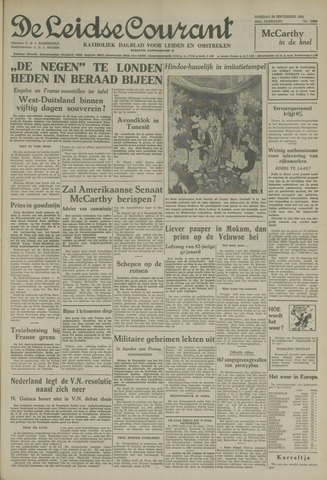 Leidse Courant 1954-09-28