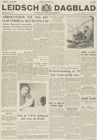 Leidsch Dagblad 1961-06-16