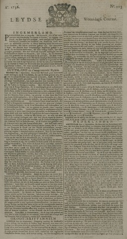 Leydse Courant 1736-09-19